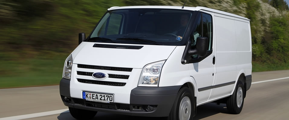 The new Ford Transit available in Jersey and Guernsey